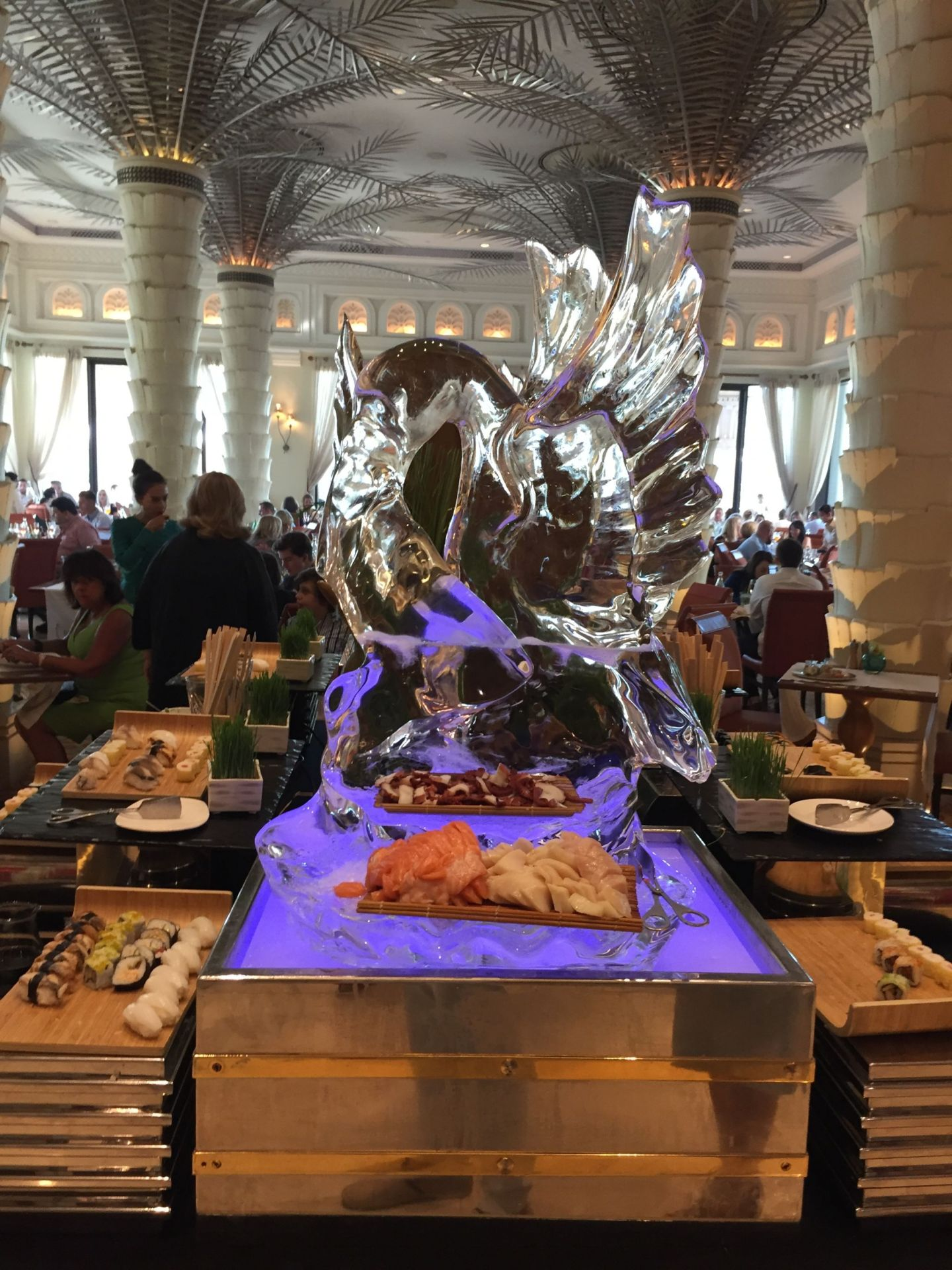 Review: Al Qasr, Dubai – my first brunch in Dubai