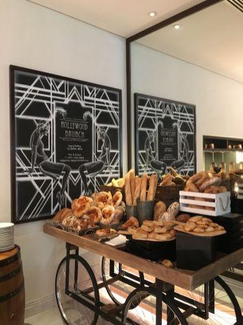 Bread selection, Delphine H Hotel Brunch, Dubai