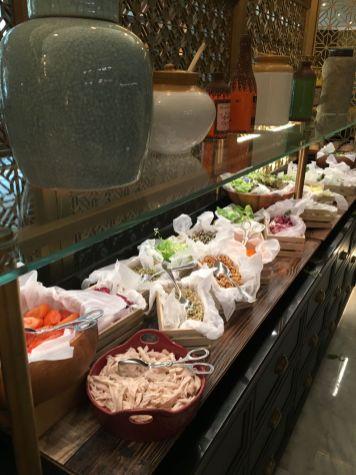 Salad Selection Delphine H Hotel Dubai Brunch