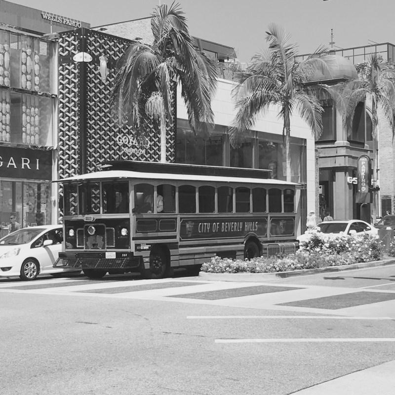 Beverly Hills tram