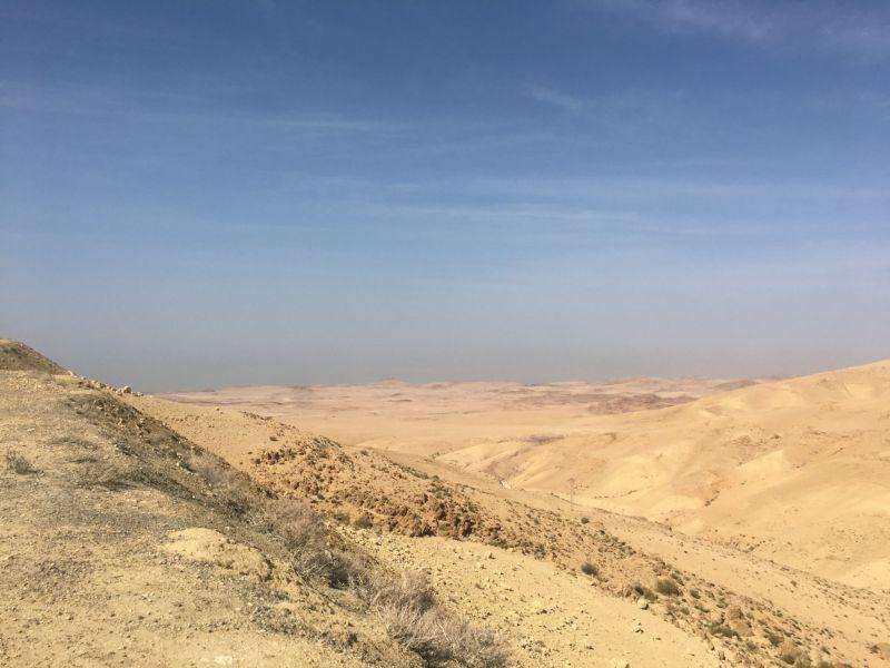 Driving in Jordan - scenery