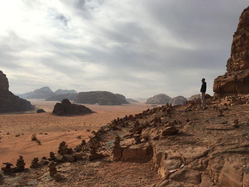 Lawrence's House, Wadi Rum Jordan