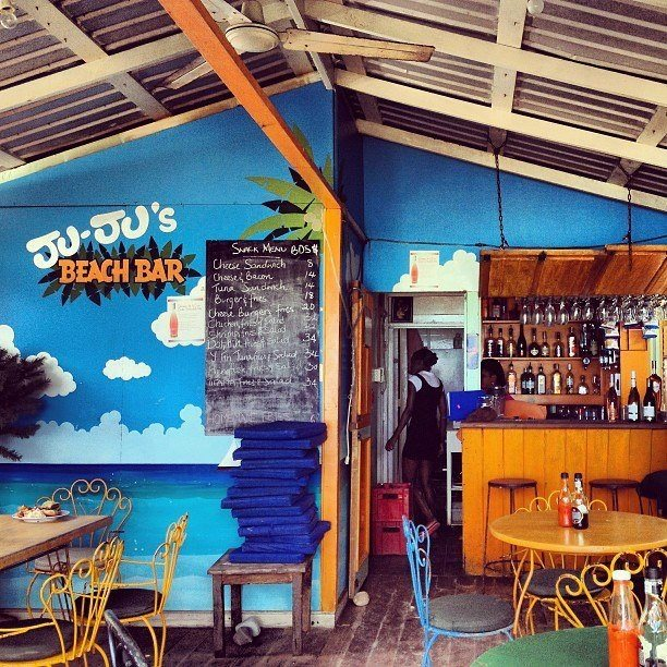 Jujus Beach Bar Barbados
