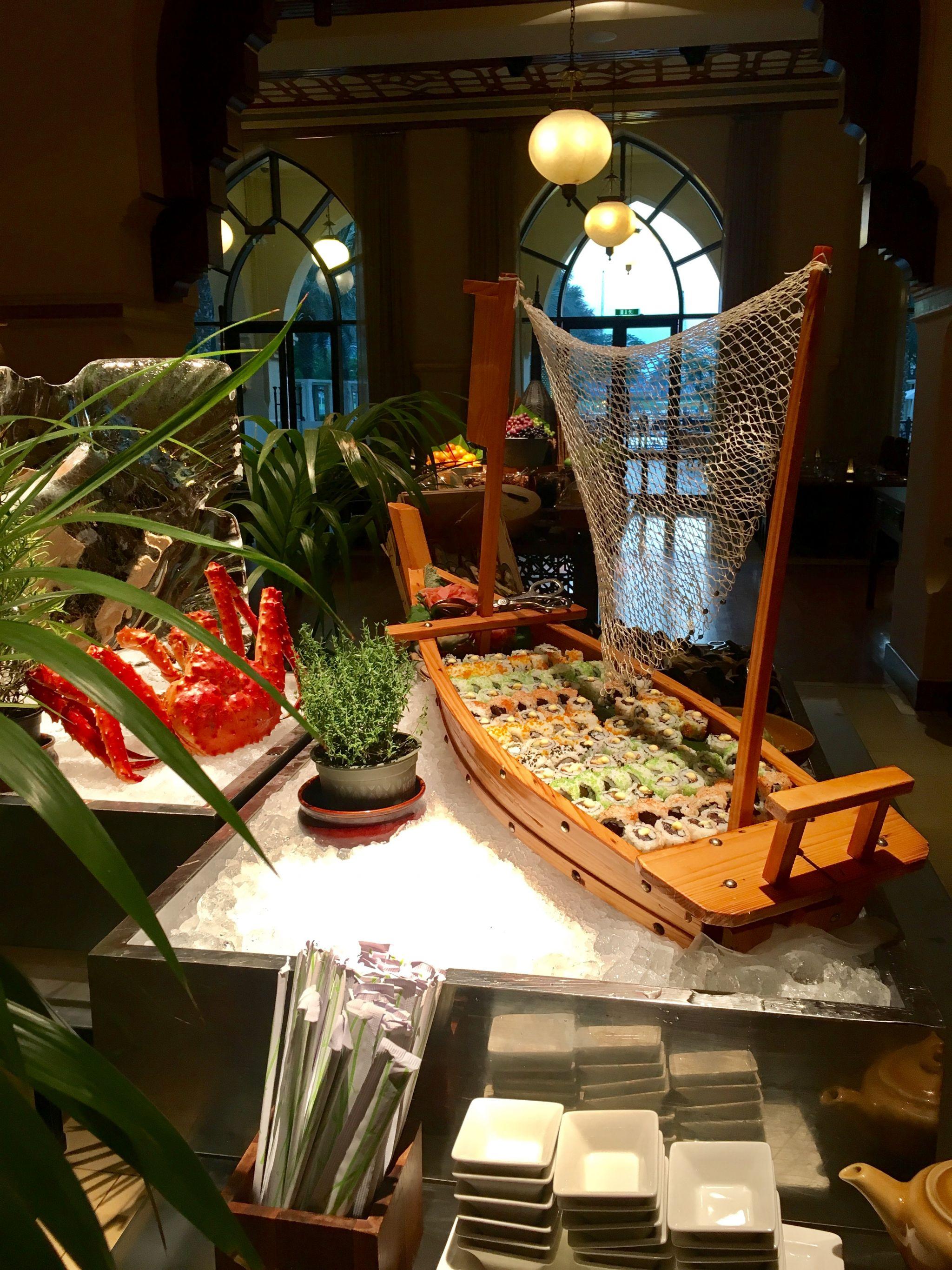 Sushi-buffet-Ewaan-Palace-Downtown-Dubai
