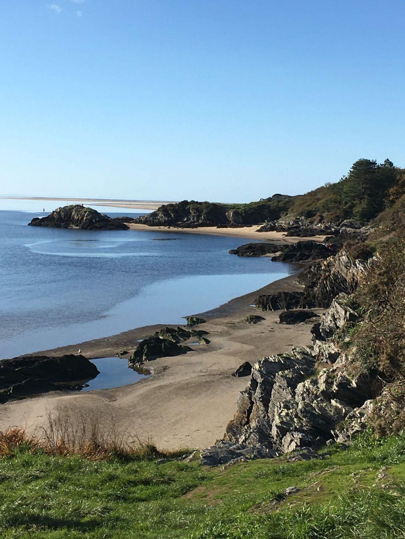 The beach at Borth-y-Gest