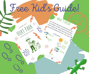 Download our FREE kids guide to Hort Park - complete with little explorer quiz