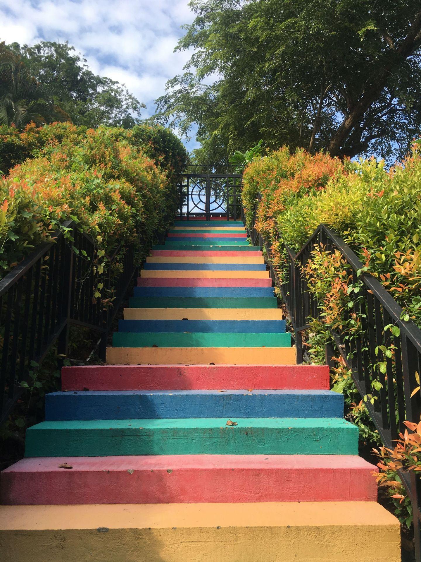 Faber-Peak-stairs