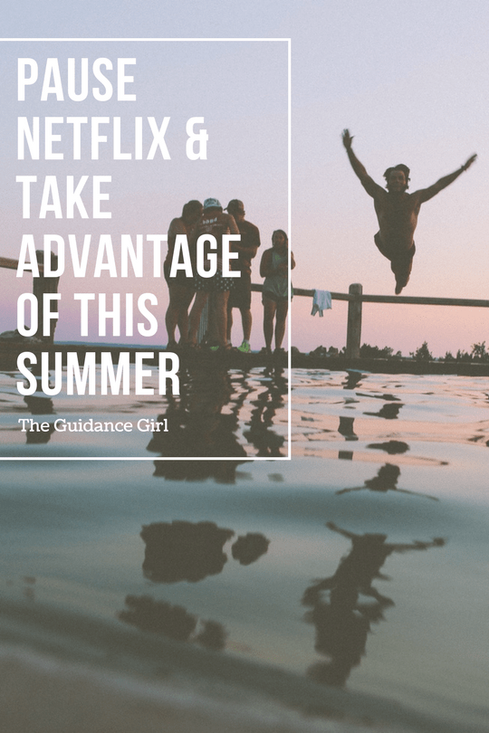 Summer brings longer hours and more free days. But most of us spend that time online. Drop the computer and go take advantage of what summer has to offer.