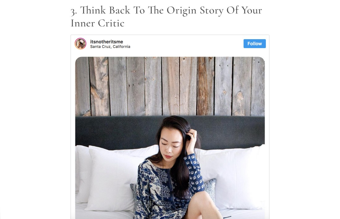 Emily Roberts on Bustle