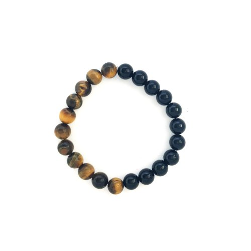 8mm Tiger's Eye Onyx Bracelet