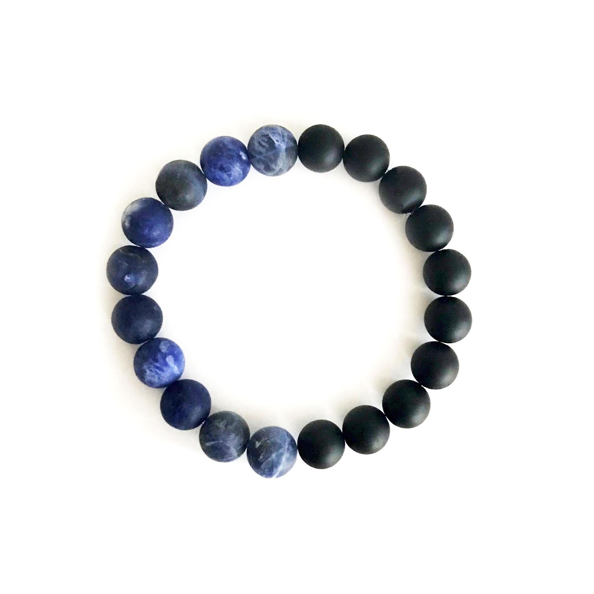 10mm Sodalite Bracelet for Men