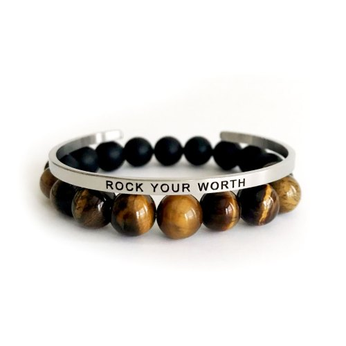 Rock Your Worth Bracelet
