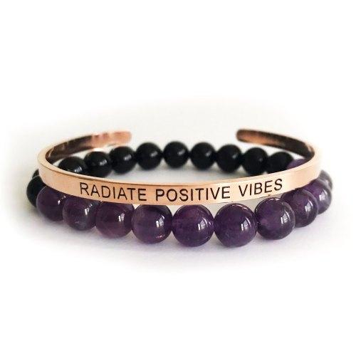 Radiate Positive Vibes Bracelet