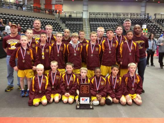 Heartland Elementary National Duals Team Minnesota