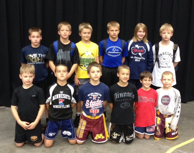Minnesota wrestlers competing at the USA Wrestling Kids Greco-Roman and Freestyle Nationals 2014.