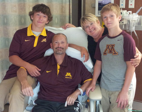 McKee Family - Mitchell, Steve, Nina, and Patrick.