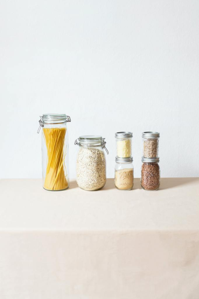 bulk foods in reuseable containers