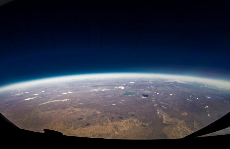earth's atmosphere made up of greenhouse gases that contribute to climate change