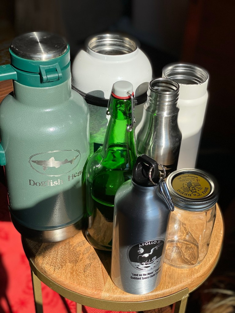 reusable water bottles from glass to stainless steel