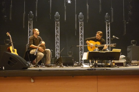 Al Di Meola and Kevin Seddiki