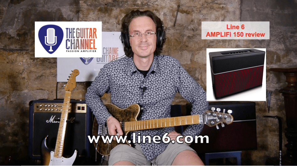 Review of the @Line6 AMPLIFi 150 - A super cool amp full of tones
