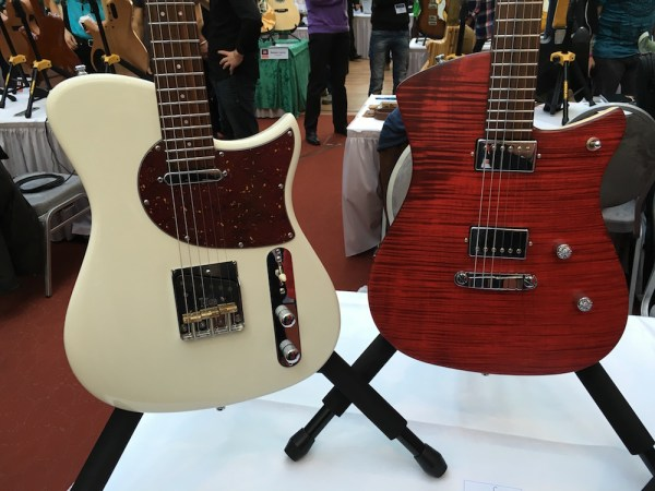 SoulTool guitars at the 2015 Holy Grail Guitar Show - Egon Rauscher interview