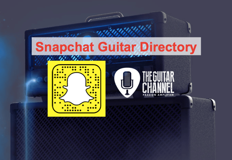 Snapchat Guitar Directory: the best accounts