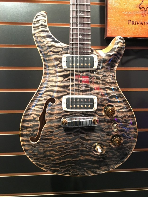 PRS guitar at the 2016 Winter NAMM