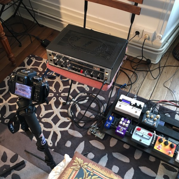 Dynacord Echocord Super 76: review of a real tape echo - Pedalboard