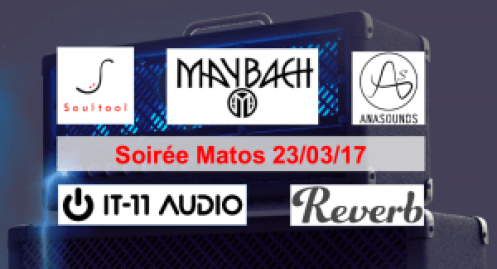 Gear Evening 23/03/17 - Soultool, Maybach, Anasounds, IT-11 Audio, Reverb.com