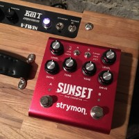Pedal Review Strymon Sunset, double overdrive/boost Swiss army knife