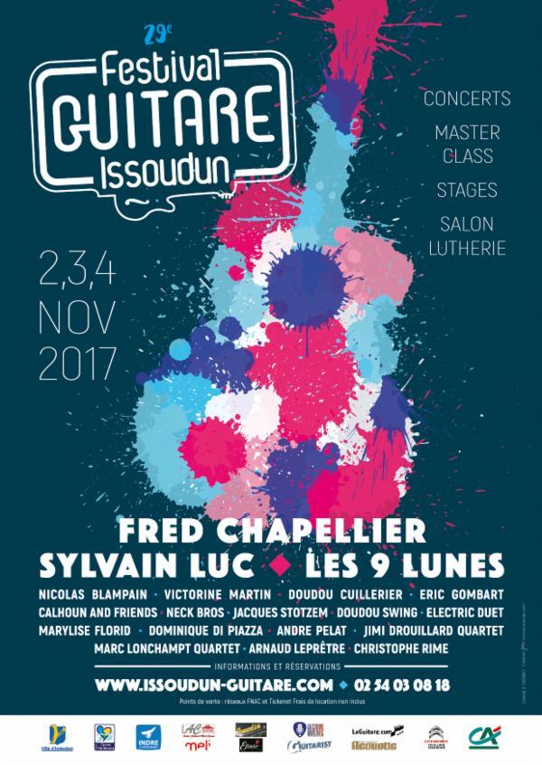Festival Guitare Issoudun 2017