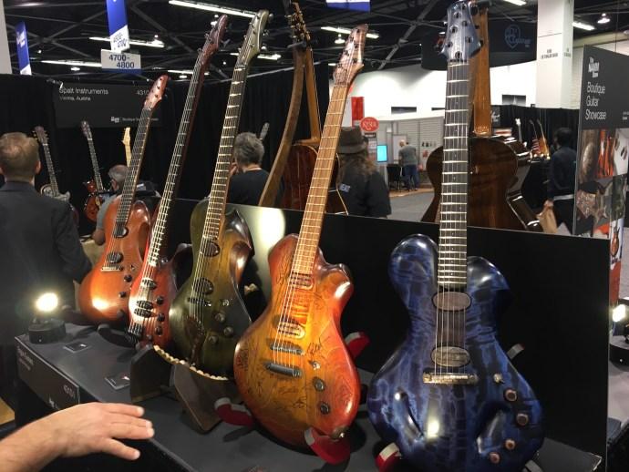 Adriano Sergio (Ergon Guitars) interview - NAMM 2018