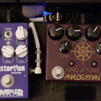 Pedal Review - Overdrive and clean boost King of Tone from Analog.Man