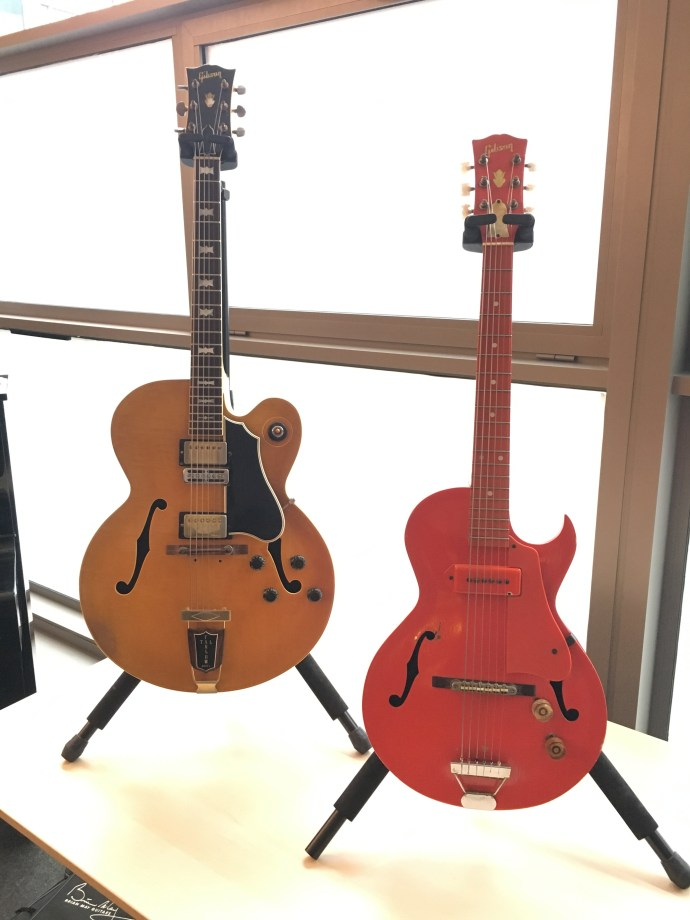 2018 Vintage Guitar Afternoon - Organized by The Guitar Channel - Tal Farlow Gibson guitars