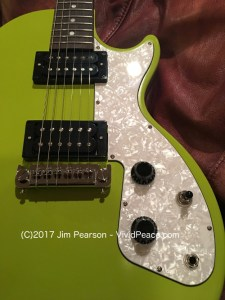 The Gibson M2 in Citron Green. Photograph by VividPeace.com