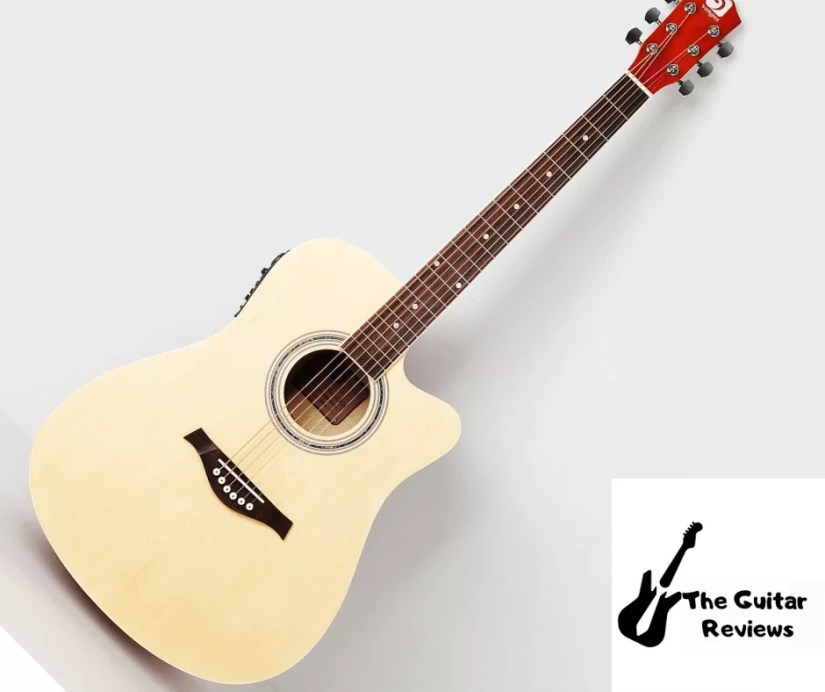 Excellent Acoustic Electric Guitar by vangoa