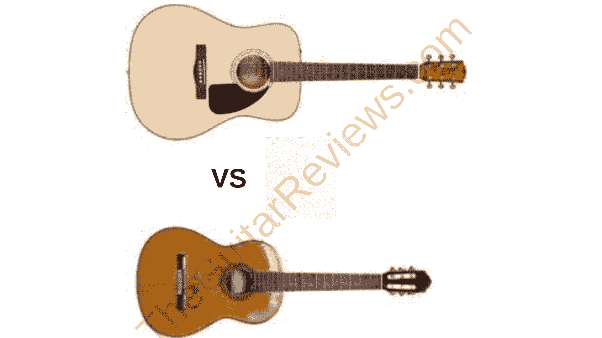 Classical Guitar vs Acoustic Guitar (Differences in Parts)