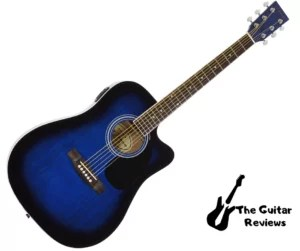 Jameson Acoustic-Electric Guitar Left Handed