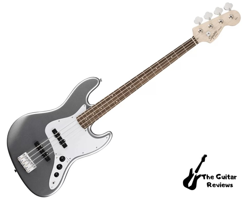 Squier by Fender Affinity Jazz Beginner Electric Bass Guitar - Slick Silver