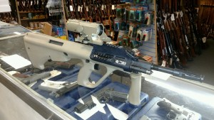 The Gun Room Inc. has the new Steyr AUG MUD Stock High Rail