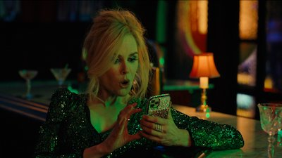 Nicole Kidman on phone