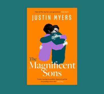 Cover of The Magnificent Sons paperback