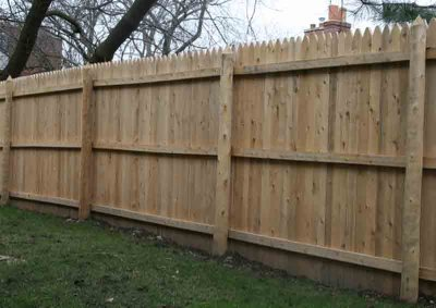 Milled Stockade (Back View)