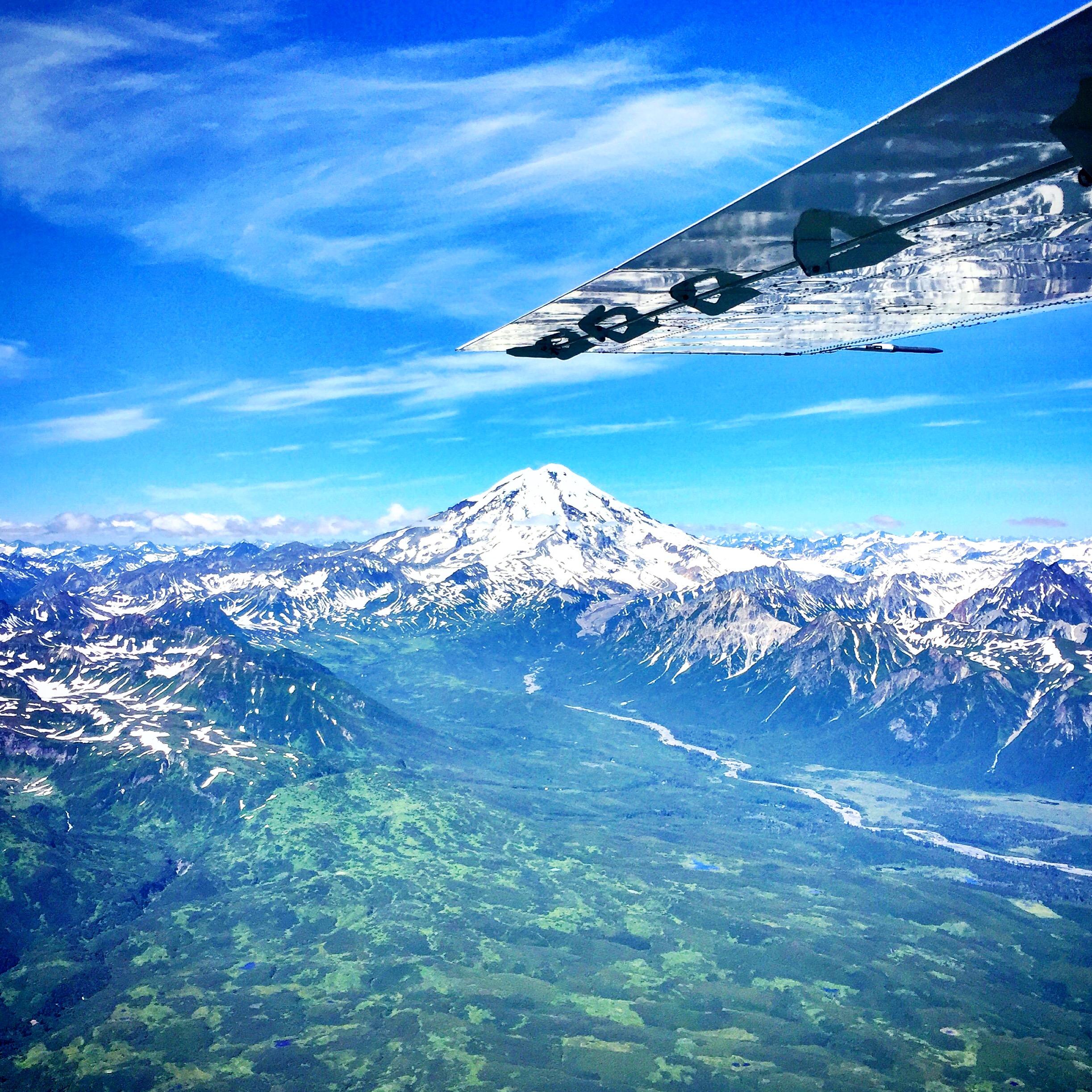 Flight Seeing Alaska: Chinitna Bay
