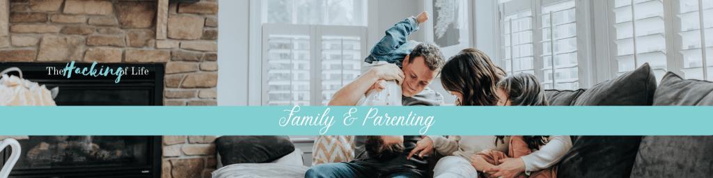 Family & Parenting Header