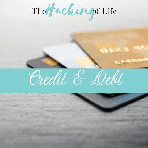 Credit & Debt Banner