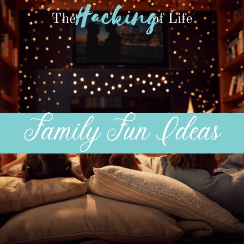 Family Fun Ideas Banner
