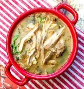 Instant Pot® Chicken Florentine Soup