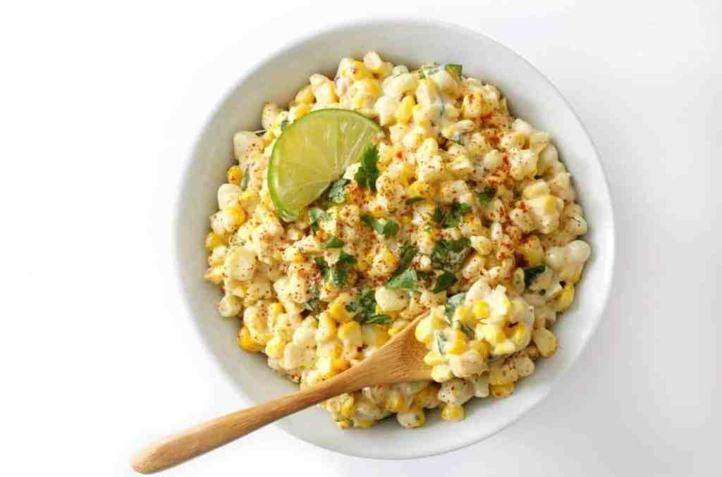 Vegan Mexican Street Corn Salad (Gluten-Free, Allergy-Free) by strengthandsunshine.com